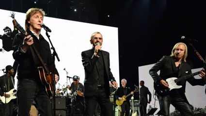 Ringo Starr, Paul McCartney and Joe Walsh have just covered John Lennon's 'Grow Old With Me'