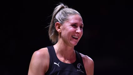 Silver Ferns star Casey Kopua announces she's pregnant and was during the Netball World Cup