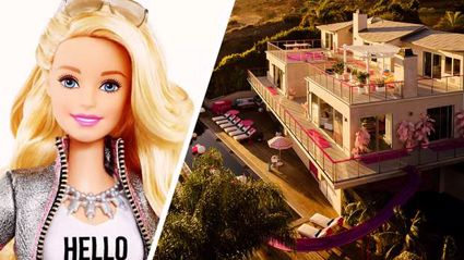 You can now stay in Barbie's real life Malibu Dreamhouse