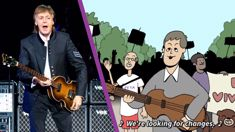 Sir Paul McCartney has created a new music video for his protest song 'Looking for Changes'