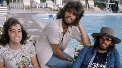 Bee Gees, 1975. Image / Getty