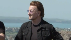 U2 spotted atop One Tree Hill ahead of Auckland concerts