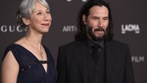 Keanu Reeves goes public with his first girlfriend in decades