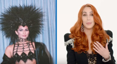Cher turns back time on 5 decades of iconic outfits from 1965 until now