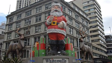 Auckland's giant Santa is retiring this Christmas after six iconic decades