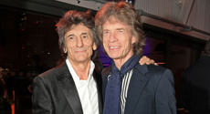 """Ronnie Wood feels """"lucky"""" to be alive"""