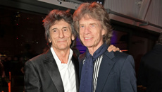 "Ronnie Wood feels ""lucky"" to be alive"