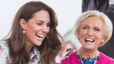 Kate Middleton and Mary Berry are reportedly filming a Christmas TV special