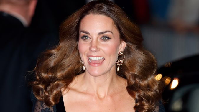 Kate Middleton stuns in glamorous semi-sheer black lace gown at the Royal Variety Performance