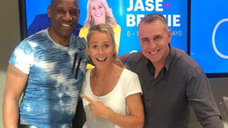 Jase and Bernie catch up with their old friend 'The Dark Destroyer' Shaun Wallace on the phone