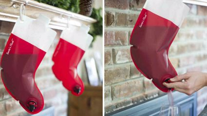 You can now get booze-filled Christmas stockings!