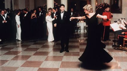 Princess Diana's iconic gown worn during dance with John Travolta to be auctioned