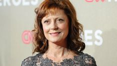 Susan Sarandon suffers a serious fall leaving her concussed with a fractured nose and bruised face