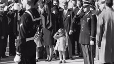 56 years on: The heartbreaking moment when three-year-old JFK Jr. saluted his dad's casket