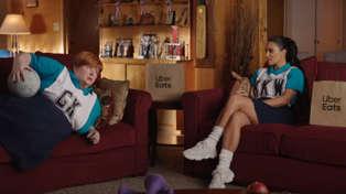 Kim Kardashian teams up with Sharon Strzelecki from 'Kath & Kim' for hilarious Uber Eats ad
