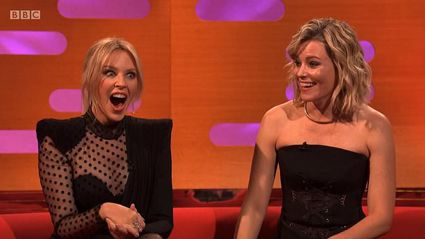 Elizabeth Banks stuns Graham Norton show guests with cheeky Prince Andrew joke