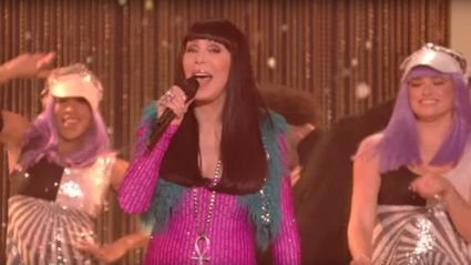 Cher dazzles Dancing With the Stars viewers with powerful performance of 'The Beat Goes On'