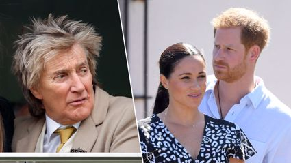 Rod Stewart slams Meghan Markle and Prince Harry for not spending Christmas with the Queen