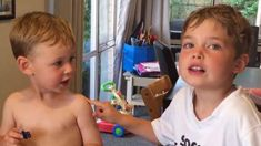 Young Kiwi siblings go viral after adorably arguing over which Barrett brother they are