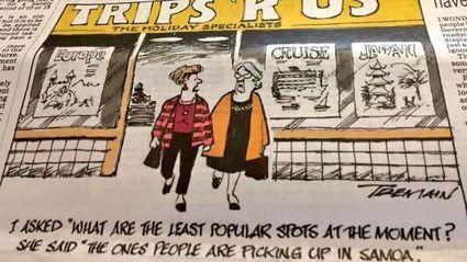 "Kiwi cartoonist says he's not sorry for ""shameful"" sketch joking about Samoa's measles epidemic"