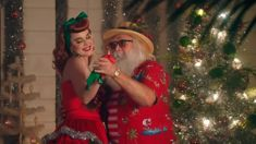 Katy Perry has released a brand new Christmas song and the music video is a tad bizarre