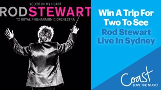 Win a trip for two to see ROD STEWART live in Sydney!