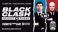 Rugby vs. Cricket in The Balck Clash