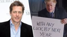 Hugh Grant hits out at Boris Johnson's 'Love Actually' election campaign spoof