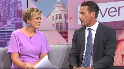 WATCH: Jeremy Wells' heartwarming birthday tribute to Hilary Barry brings tears to her eyes