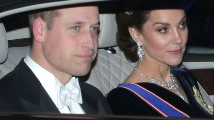 Kate Middleton dazzles in Princess Diana's tiara at Buckingham Palace