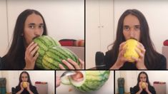 Fantastic cover of Smashmouth's All Star played on melons!