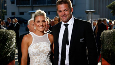 Richie and Gemma McCaw share rare photo of their daughter in celebration of her first birthday