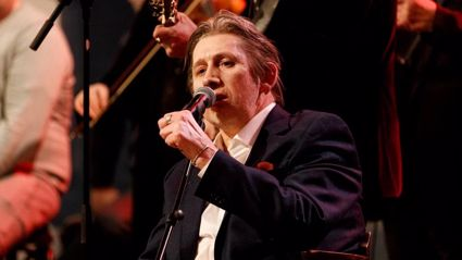 The Pogues' Shane MacGowan performs the much-loved festive favourite 'Fairytale of New York'