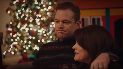Matt Damon hilariously sums up what Christmas is REALLY like for parents in SNL skit