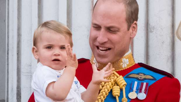 Prince Louis steals the show as he attends the Queen's annual Christmas lunch
