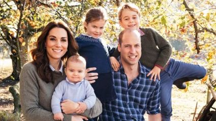 The Cambridges' annual Christmas card photo has been leaked - and it is gorgeous!
