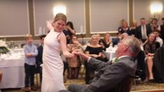 This bride's emotional dance with her terminally ill father in a wheelchair gave us all the feels!