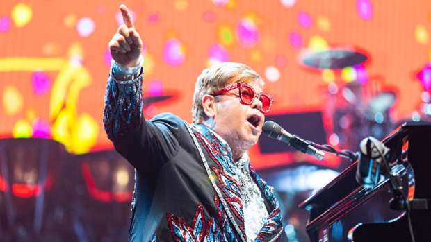 Sir Elton John has donated $1 million to the Australian bushfire relief fund / Getty Images