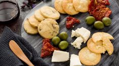 These simple homemade crackers are perfect for your platters this Summer!
