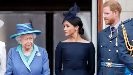 The Queen makes rare statement on Prince Harry and Meghan Markle's decision to leave royal family