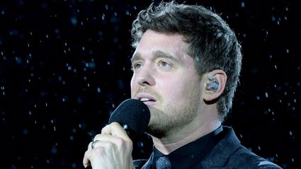 "Michael Bublé reveals he ""cried for two hours"" after he came off stage at his comeback gig"
