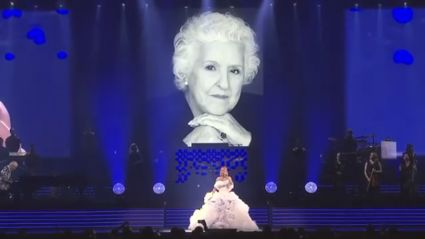 Céline Dion performs emotional cover of 'Over The Rainbow' in tribute to her mum after her passing