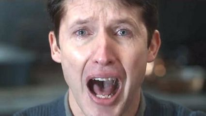 James Blunt breaks down in heartbreaking new music video starring his dying father