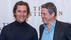 Matthew McConaughey has set his mum up on a date with Hugh Grant's dad