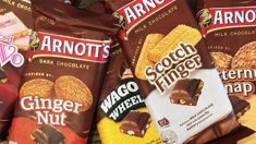 Chocolate block versions of your favourite Arnott's biscuits are now available in New Zealand