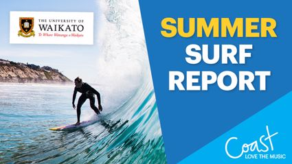 Coast Surf Report, thanks to the University of Waikato