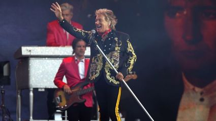 Rod Stewart has pleaded not guilty to allegedly attacking a security guard / Getty Images