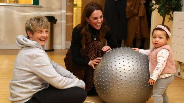 Kate Middleton hopes the results of her questionnaire will help young parents in the future / Getty