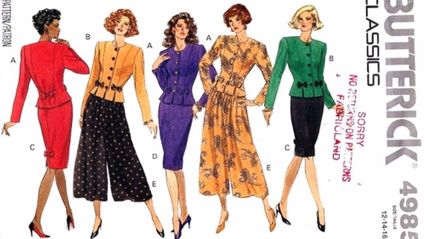 83,500 Vintage Sewing Patterns have been released for all to sew and enjoy!