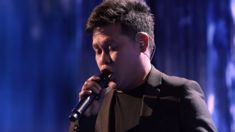Man stuns singing Celine Dion and Andrea Bocelli's duet all by himself on America's Got Talent
